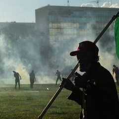 BRASIL.- En primera instancia, Temer había ordenado el despliegue de 1.500 militares en la capital brasileña. Foto: AFP