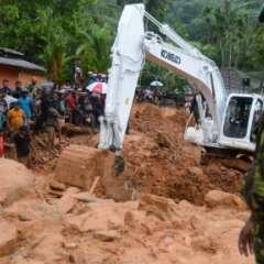 Las inundaciones y avalanchas de tierra también han dejado 110 desaparecidos. Foto: redes