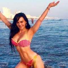 La actriz quiso reconfirmar su status como una de las actrices más sensuales de la región.