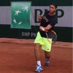 Roberto Quiroz cayó en el último partido de la qualy de Roland Garros, su primer Grand Slam.