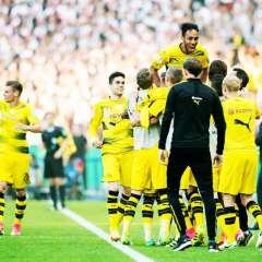 El Borussia Dortmund se quedó con la Copa de Alemania tras superar en la final al Eintracht Frankfurt.