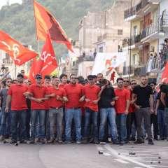 Protestaron contra políticas de los siete países más ricos del mundo. Foto: AFP