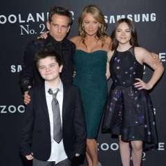 Los actores son padres de Ella de 15 años, y Quinlin de 11. Foto: AP.