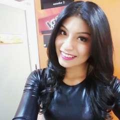 """La cantante promociona su nuevo tema """"Me voy a enamorar"""", grabado en el 'Embalse de yeso' en Chile. Foto: Instagram Wendy Sulca."""