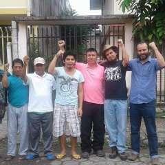 Los trabajadores fueron sentenciados a 6 meses de prisión en enero de 2016. Foto: @CONAIE_Ecuador