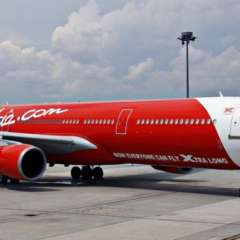 El avión era un Airbus A330 de AirAsia, similar a este. Foto: BBC
