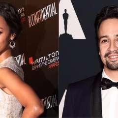 Zoe Saldaña y Lin-Manuel Miranda tendrán estrellas en el Paseo de la Fama de Hollywood el 2018. Foto: Redes