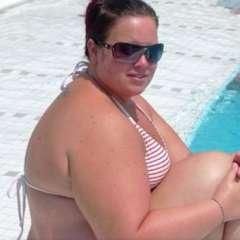 Sara Magnusson, de 38 años, llegó a pesar 150 kilos luego de dar a luz a su primer hijo. Foto: Instagram