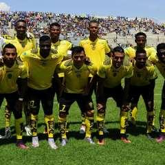 Fuerza Amarilla recibe en el estadio Modelo a Independiente Santa Fe de Bogotá.