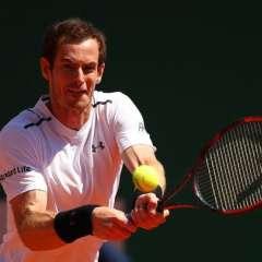 El británico Andy Murray presenta molestias en su cadera y es duda en Wimbledon.