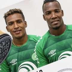 Fernando Guerrero y Cristhian Penilla buscarán levantar el nivel del campeón de la Copa Sudamericana. Foto: Tomada de la cuenta Twitter @ChapecoenseReal