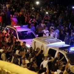 Nuevas medidas de seguridad causan protestas en entrada de la Explanada de las Mezquitas. Foto: AFP