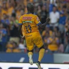 Enner Valencia debutó en Tigres con un 'Hat Trick' ante Puebla. Foto: AFP