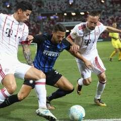 Inter de Milan superó al Bayern Múnich de Alemania en torneo amistoso disputado en Singapur.