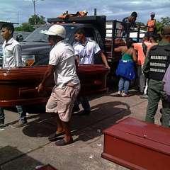 VENEZUELA.- El número de víctimas mortales fue el peor en Venezuela desde un motín carcelario. Foto: AFP