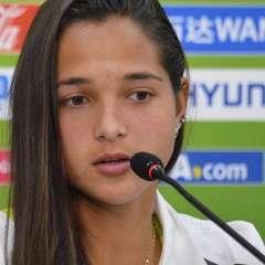La jugadora venezolana es la única latinoamericana entre las diez candidatas al premio como la mejor futbolista del año en la gala The Best de la FIFA. Foto: Tomada de la cuenta twitter @FVF_Oficial