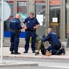 La policía dispara en Finlandia a un hombre que apuñaló a varias personas. Foto: AFP