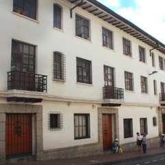 QUITO, Ecuador.- El edificio Casa Mejía es uno de los inmuebles que entra a subasta a fines de este mes de agosto. Foto: Inmobiliar