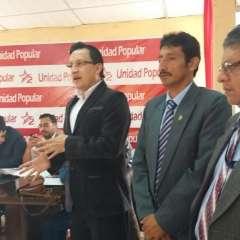 Rosero y otras 2 personas están acusadas del delito de ataque o res/istencia. Foto: Twitter @geovanni_atari