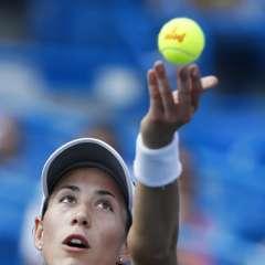 La jugadora española-venezolana jugará las semifinales del torneo estadounidense. Foto: AP