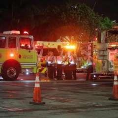 La Policía de Miami-Dade no encontró heridos u hombres armados tras inspecciones. Foto: Tomado de El Nuevo Herald.