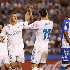 Goleada del Real Madrid en Riazor en la primera jornada de la Liga española.