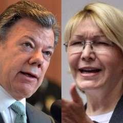 COLOMBIA.- Las autoridades no han especificado el estatus migratorio de la exfuncionaria de la Fiscalía venezolana. Collage: Ecuavisa
