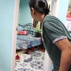 Por fortuna, el menor se había quedado dormido en la habitación de la madre y así evitó cruzarse con la gigantesca intrusa. Foto: captura de video