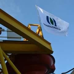 """Según empresa pública, este es el """"mejor registro desde 2007 en la industria ecuatoriana"""". Foto: Petroamazonas."""