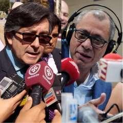 QUITO, Ecuador.- El exasambleísta Montúfar (izquierda) presentará un pedido de diligencia urgente contra Glas en la Fiscalía. Collage: Ecuavisa