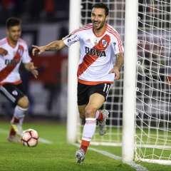 El argentino Ignacio Scocco marcó cinco de los ocho goles de River Plate, que sirvieron para ser semifinalista de la Libertadores.