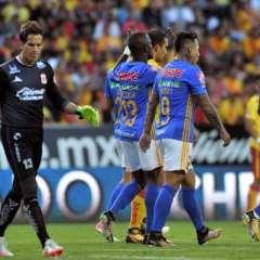 El delantero ecuatoriano milita en el Tigres de México. Foto: AFP