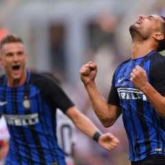 Los 'neroazzurros' quedaron a 2 puntos de los líderes Juventus y Napoli. Foto: AFP