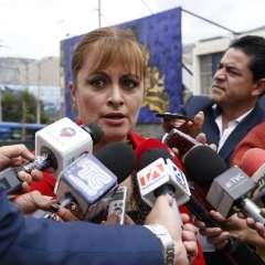 QUITO, Ecuador.- Según Alexandra Córdova, un asesor de Carlos Baca le indicó que el encuentro no fue confirmado, por lo que no se concretó. Foto: API