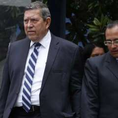 Carlos Barredo da versión sobre Caso Odebrecht en Fiscalía General de Estado. Foto: API