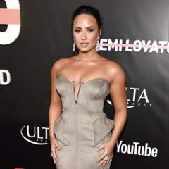 Lovato habla de sus años de abuso de drogas y de sus problemas alimenticios en el documental autobiográfico. Foto: AP.