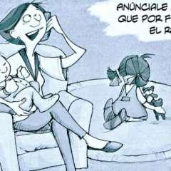 """""""Desde pequeños se incuba en los hombres ese necesidad de demostrar que son hombres"""", dijo Marina Castañeda, autora de """"El machismo ilustrado"""". (Crédito: Eva Lobatón)"""