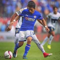 Ángel Mena no podrá jugar el próximo partido del Cruz Azul debido a una lesión.
