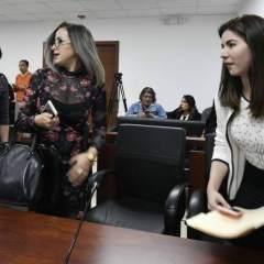 La audiencia de vinculación por lavado de activos en el caso Odebrecht se realizó en el Complejo Judicial Norte, en Quito. Foto: API
