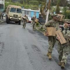 El gobernador Ricardo Rosselló anunció este miércoles el fin del toque de queda. Foto: AFP