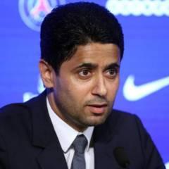 """Nasser Al-Khelaifi es sospechoso de haber procurado """"ventajas indebidas"""" a Jerome Valcke, antiguo secretario general de la FIFA."""
