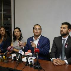 QUITO, Ecuador.- La bancada del movimiento SUMA considera que la situación judicial de Glas afecta al país. Foto: API