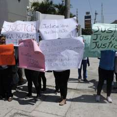 GUAYAQUIL, Ecuador.- Representantes de los estudiantes aclaran que no impulsaron 'Plantón por la Inocencia'. Foto: Archivo API.