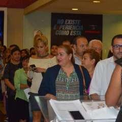 Cientos de personas asistieron a la Avant Premiere del largometraje. Foto: Franklin Navarro