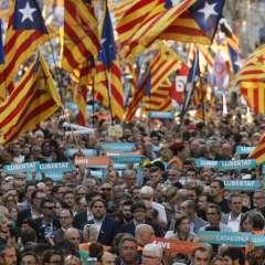 El gobierno de Rajoy pide al Senado el cese de la totalidad del gobierno regional catalán. Foto: AFP