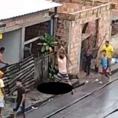 Un ciudadano brasileño de 27 años golpeó hasta la muerte a su padrastro. Foto: captura de video