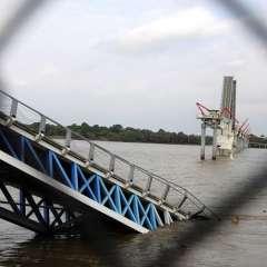 GUAYAQUIL, Ecuador.-  El puente que conecta Santay con Guayaquil tuvo un costo final de de $20 millones. Foto: Archivo/API.
