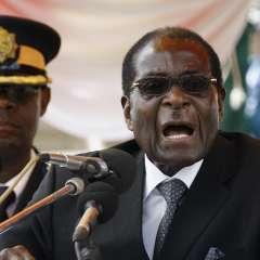 La noticia fue anunciada en una sesión extraordinaria del parlamento de Zimbabue. Foto: AFP