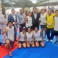 La delegación nacional acumula, hasta el momento, 142 preseas en los Juegos Bolivarianos. Foto: Tomada de la cuenta Twitter @ECUADORolimpico