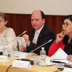 Fiscal Baca Mancheno infirmó acciones adoptadas en casos de abuso sexual. Foto: Fiscalía Ecuador